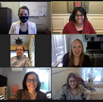 image of CPERL lab members on zoom